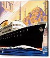 Venise Vintage Travel Poster Acrylic Print