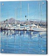 Ventura Harbor Morning Light Acrylic Print