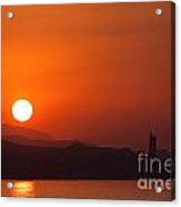 Venturing Sunrise Acrylic Print