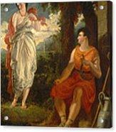 Venus And Anchises Acrylic Print