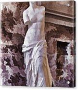 Venus De Milo - Louvre Acrylic Print