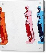 Venus De Milo Statue Acrylic Print