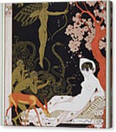 Venus Acrylic Print by Georges Barbier