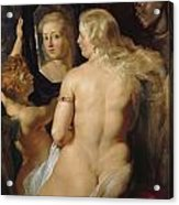 Venus In A Mirror Acrylic Print