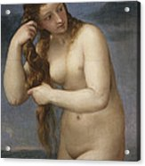 Venus Rising From The Sea Acrylic Print