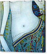 Venus With Doves Acrylic Print