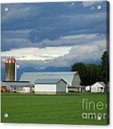Verdant Farmland Acrylic Print