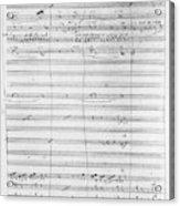 Verdi Rigoletto, 1850 Acrylic Print