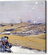 Verdun, 1916 Oil On Canvas Acrylic Print