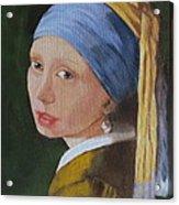 Vermeer Study Acrylic Print