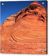 Vermilion Mounds Acrylic Print