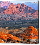 Vermillion Cliffs At Sunrise Acrylic Print