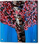 Vermillion Dreams Acrylic Print