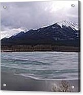 Vermillion Lakes, Banff National Park - Panorama Acrylic Print