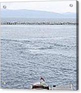 Vermont Boat Pier Acrylic Print