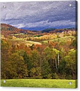 Vermont Colors Acrylic Print
