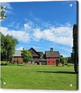 Vermont Country Home Acrylic Print