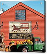 Vermont Country Store Acrylic Print