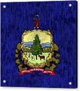Vermont Flag Acrylic Print