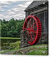 Vermont Grist Mill Acrylic Print