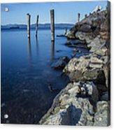 Vermont Lake Champlain Sunrise Burlington Acrylic Print