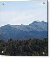 Vermont Mountains Acrylic Print