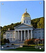 Vermont State House Acrylic Print