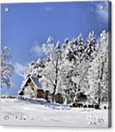 Vermont Winter Beauty Acrylic Print
