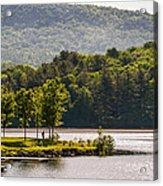 Vermonts Lake Fairlee Acrylic Print