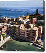 Vernazza From Above Acrylic Print