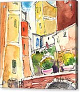 Vernazza In Italy 02 Acrylic Print
