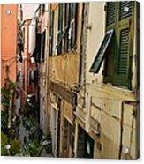 Vernazza Street Acrylic Print