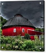 Vernon County Round Barn Acrylic Print