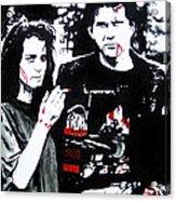 Veronica And J.d. Acrylic Print