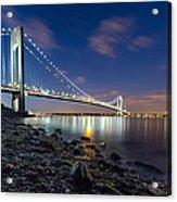 Verrazano-narrows Bridge  Acrylic Print