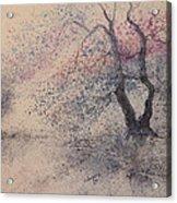 Vertical Tree  Acrylic Print