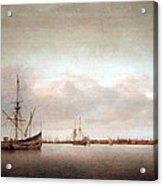 Verwer's View Of Hoorn Acrylic Print