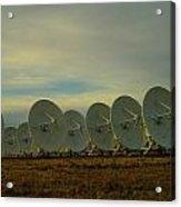 Very Large Array Near Socorro New Mexico Acrylic Print