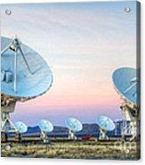 Very Large Array Of Radio Telescopes 1 Acrylic Print