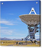 Very Large Array - Vla - Radio Telescopes Acrylic Print by Christine Till