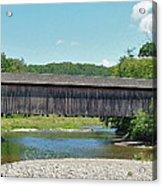Very Long Covered Bridge Acrylic Print