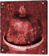 Very Red Pomegranate Acrylic Print