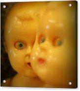 Very Scary Doll Acrylic Print