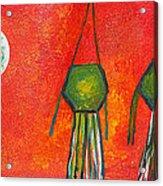 Vesak Lanterns Acrylic Print