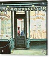 Vesuvio Bakery Acrylic Print by Anthony Butera