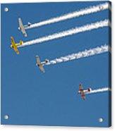 Veterans Day Flyover - Overhead Acrylic Print