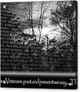 Veteran's Day  Acrylic Print