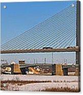 Veterans Glass City Skyway Pano Acrylic Print