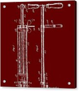 Veterinary Molar Extraction Patent 1911 Acrylic Print