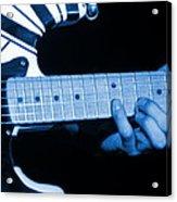 Vh #20 In Blue Acrylic Print